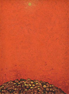 「錦 秋」 第56回日本現代工芸美術展  F60 2017