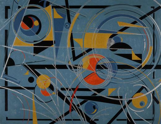 「コンポジション」 日本現代工芸美術展  F80