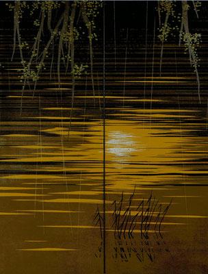 「慈 照」 第51回日本現代工芸美術展 168×130cm  2012  個人蔵