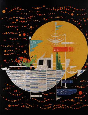 「Voyage」 河北工芸展 F80号