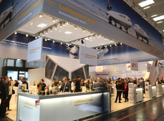 LH Cargo, Swiss WorldCargo and Brussels Airlines Cargo ran a joint stand at ACE
