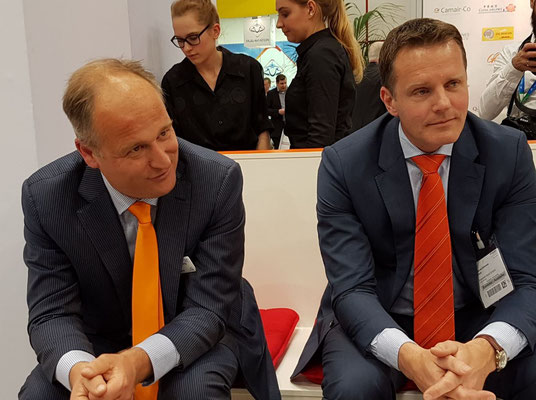 Jonas van Stekelenburg (left) and Nanne Onland  -  photo: ms