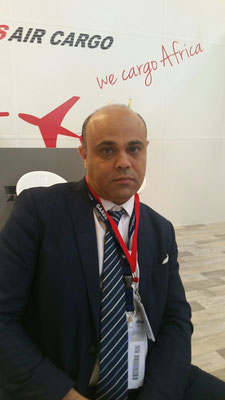 Chief Business Officer Karim Stambouli of Tunisian freight carrier Express Air Cargo