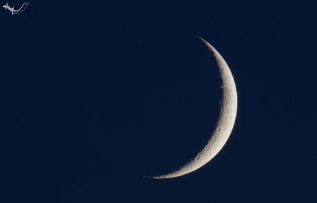 Mond zunehmend 16.07.2018