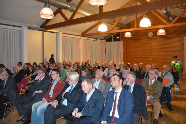 Die Veranstaltung in Wilhelmshausen war gut besucht. (Foto: Landkreis Kassel).
