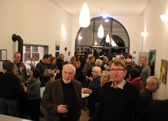 Total ausverkauft war die Gieseking-Veranstaltung in Hümme.
