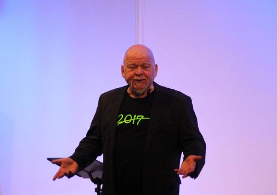 Bernd Gieseking präsentierte sein neues Bühnenprogramm.