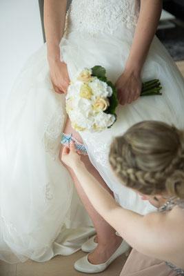 getting ready gehört zu Hochzeitsfotografie