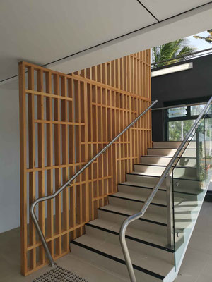 Stair divider