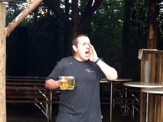 Bier iss fertisch