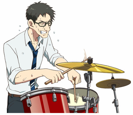 特技はドラム