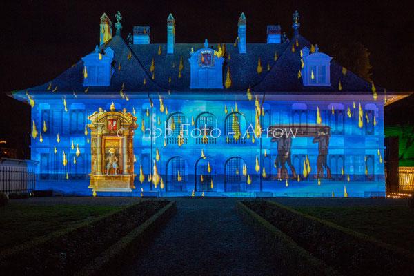 Son et Lumière Schloss Oberdiessbach zum 350 Jahre Jubiläum 2018
