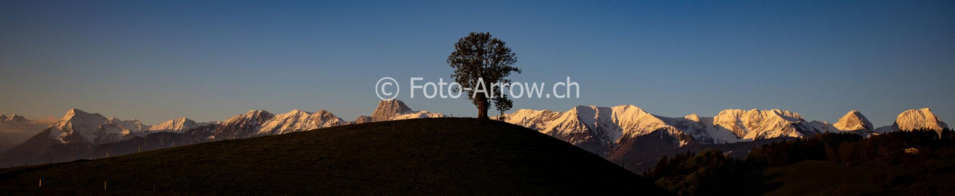 Stockhornkette, Naturpark Gantrisch