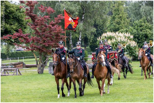 Kavallerie Bereitermusik Bern am Jubiläum der Berner Dragoner 1779
