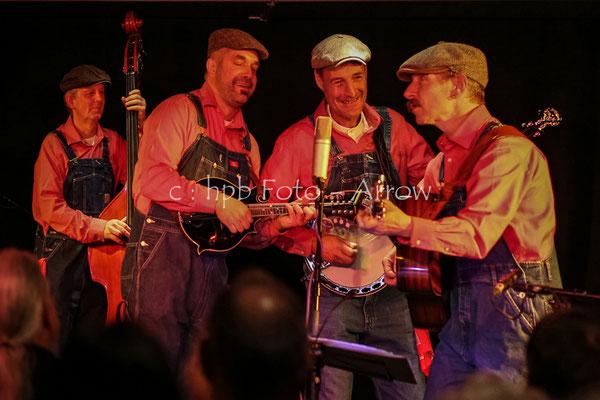 bluegrassbeans.ch an der Bluegrassnight in Bern Mahogony Hall Bern