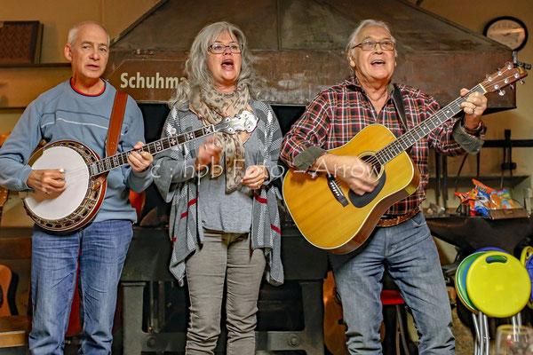 Bluegrass Jam, alte Schmitte Steffisburg mit Spontanauftritt einem Teil der Rodeo Ranchers, die haben sich Ende 2018 leider aufgelöst!