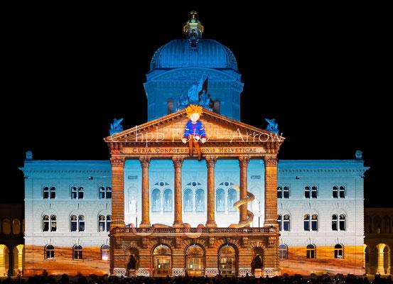 Der kleine Prinz, Rendez-vous am Bundesplatz Bern 2018