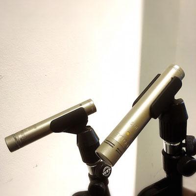 RODE NT5(pair) ¥220/h ステレオペアのコンデンサーマイクです。ドラムの収録に