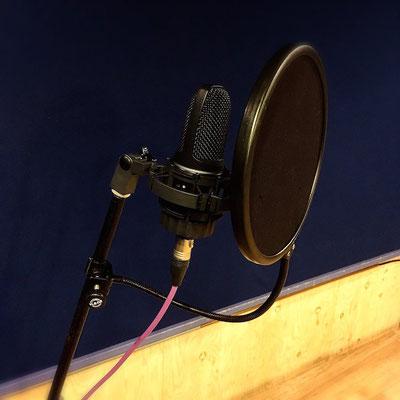 AKG C3000B ¥200/h   ボーカル録りやナレーションにオススメです