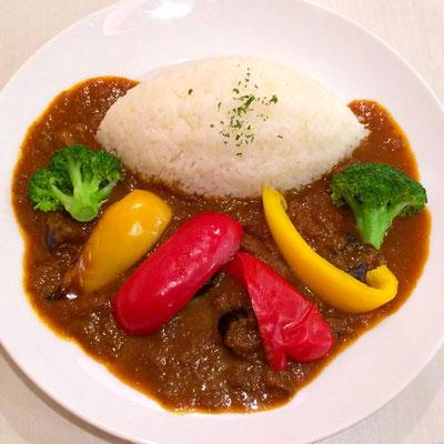 ダンデライオンの野菜カレー