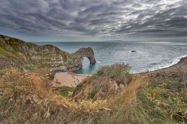 Durdle door aan de zuid kust van Engeland