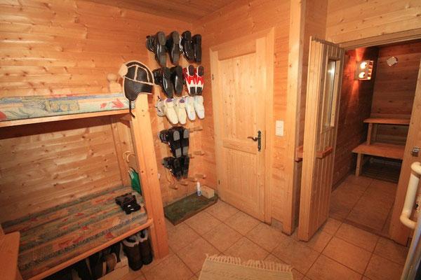 Sauna & Vorraum
