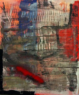 Saebraut, Acryl auf Leinwand, 100x120 cm, 2015