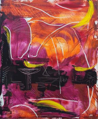 Obsttag, Acryl auf Leinwand, 100x120 cm, 2015