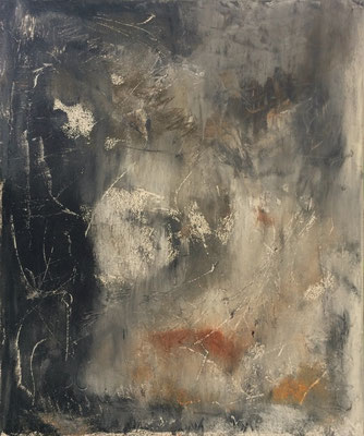 Rundmond, Acryl auf Leinwand, 100x120 cm, 2015