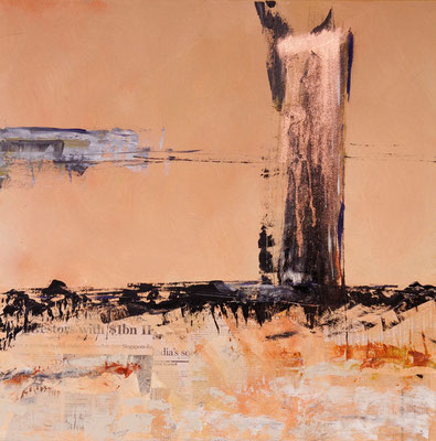 9/11, Acryl auf Leinwand, 60x60 cm, 2011