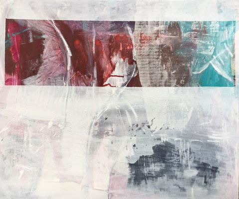 Die Windspieler, Pigment und Acryl auf Leinwand, 120x100 cm, 2017