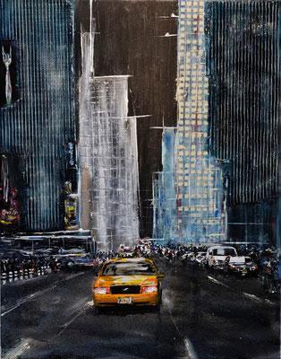 Square 121, Acryl auf Leinwand, 55x70 cm, 2012
