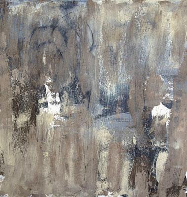 Twenty Shakes Of Grey, Acryl auf Leinwand, 120x120 cm, 2013
