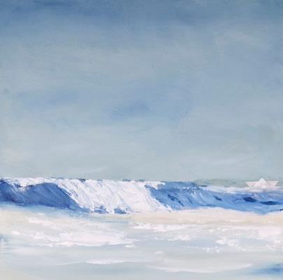 Wave, Acryl auf Leinwand, 60x60 cm, 2011