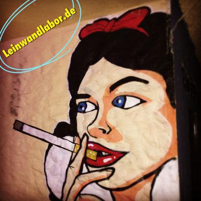Raucherzimmer in einer Disco