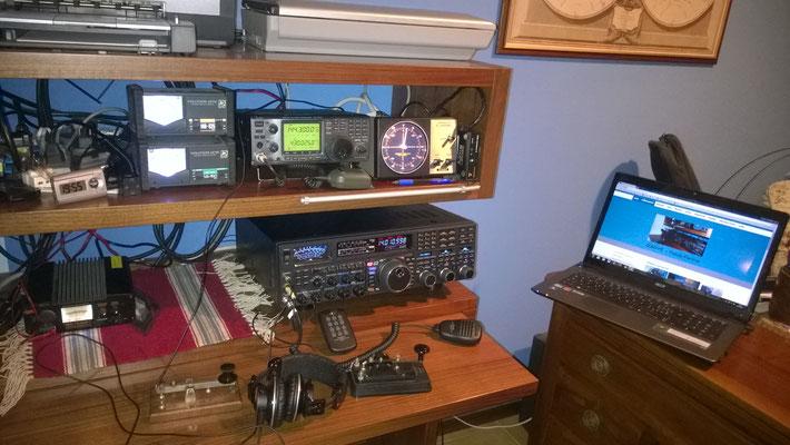 Nuovo setup stazione 2017! E' arrivato l'FTdx 5000 MP