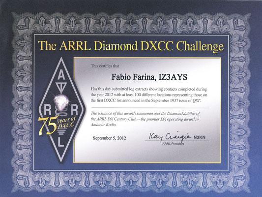 Diamond DXCC