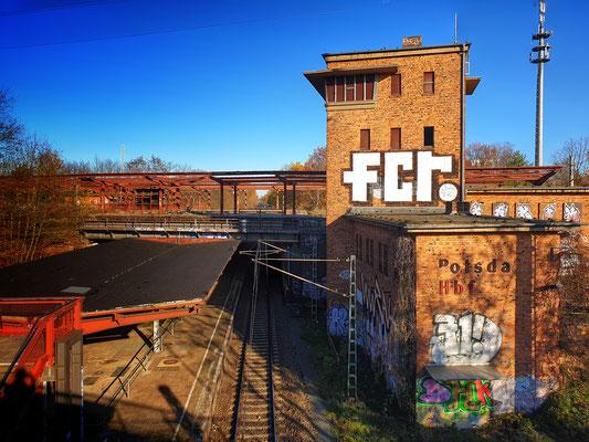 Relikte des alten Potsdamer Hauptbahnhofs