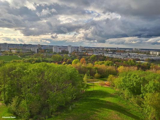 Blick vom Wolkenhain in nordwestlicher Richtung