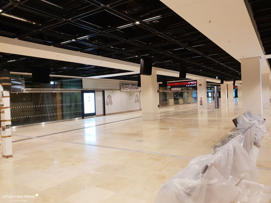 Terminal, Ebene E0 (Ankunft)