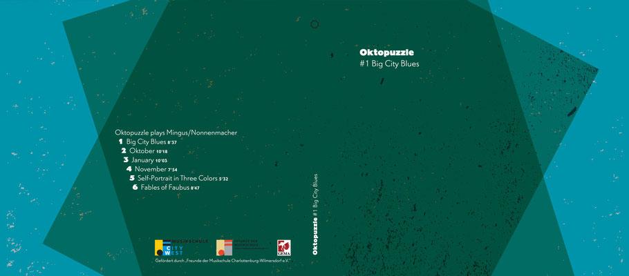 CD-Cover und Layout von Ricarda von Tresckow.