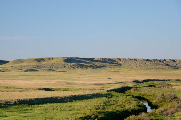 Frenchman River Valley im Grasslands NP - West Block