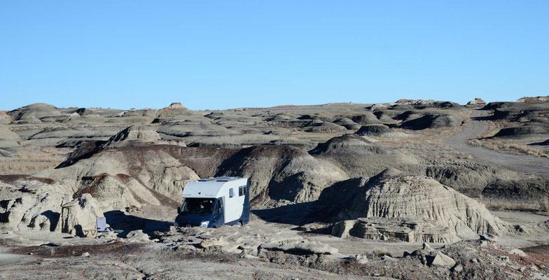 2. Übernachtungsplatz nördl. vom Bisti-South Trailhead