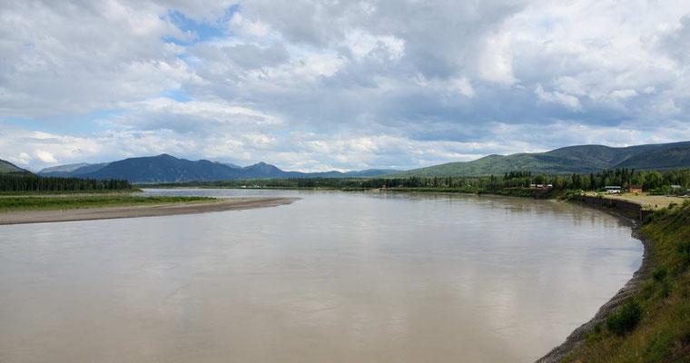 Wieder der Yukon River