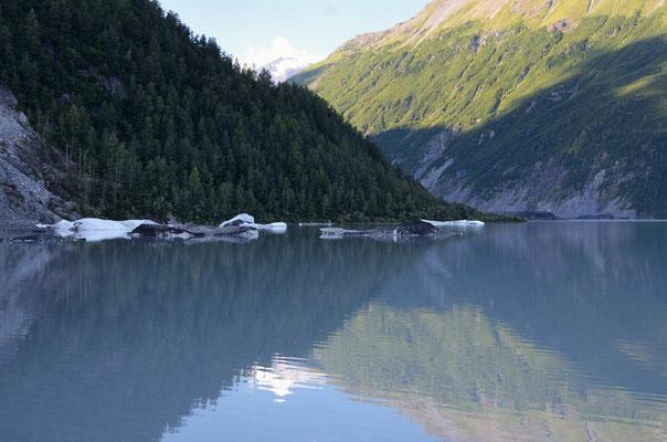 Der Gletschersee des Valdez-Glacier