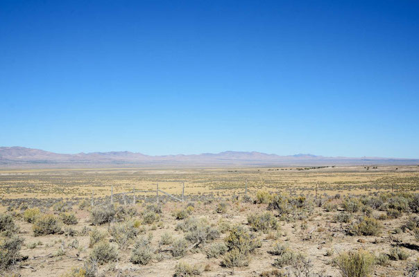 Nevada, immer südwärts nach Las Vegas