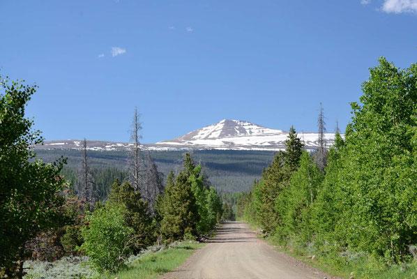 Die Unita Mountains ganz im Norden von Utah