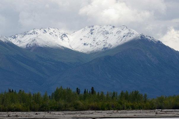 Die Kluane Range im Yukon