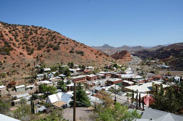 Das Minenstädtchen Bisbee hat wesentlich mehr Charme