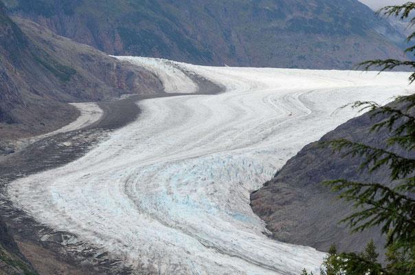 Da isser: der Salmon Glacier
